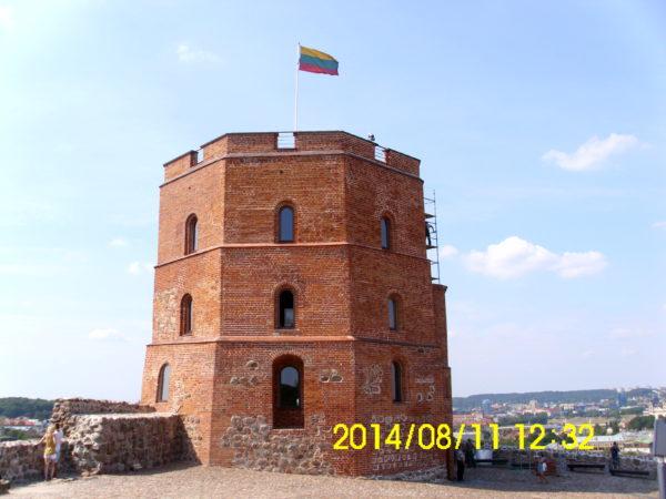 dzień w Wilnie