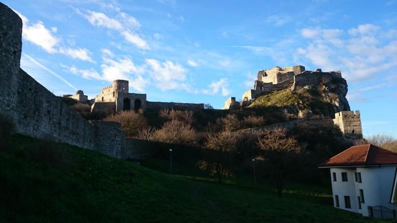 Zamek Devin, Słowacja