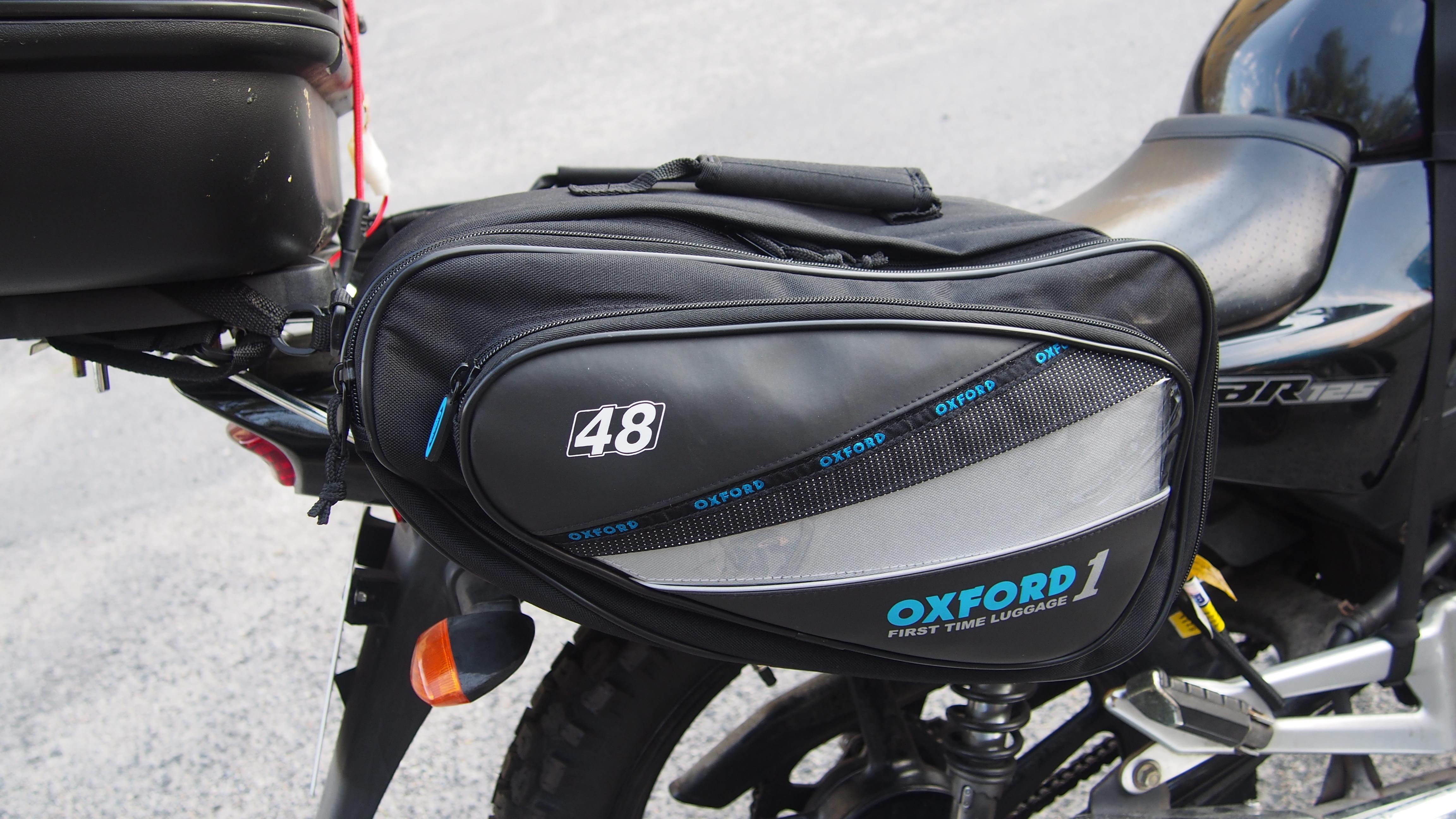 sakwy boczne Yamaha YBR, motocyklowe gadżety