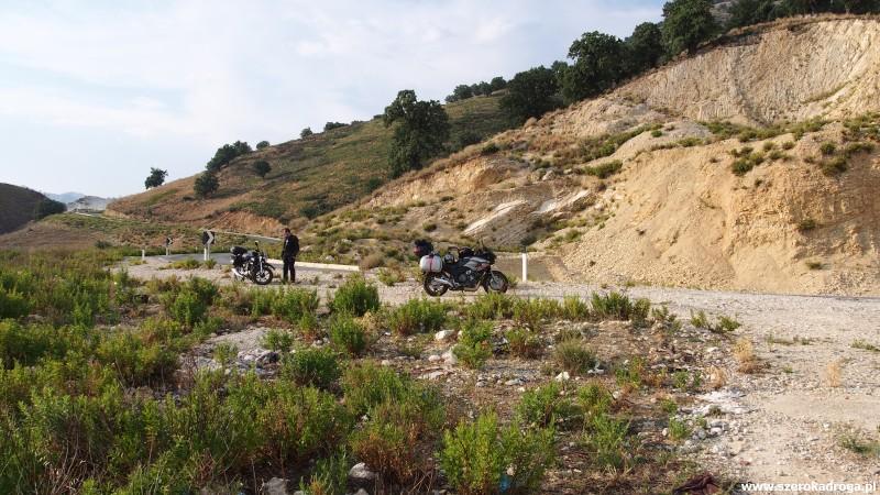 Przełęcz Llogara - Albania motocyklem
