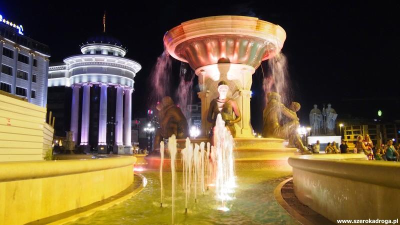 Skopje, pomnik Macedońskich Matek