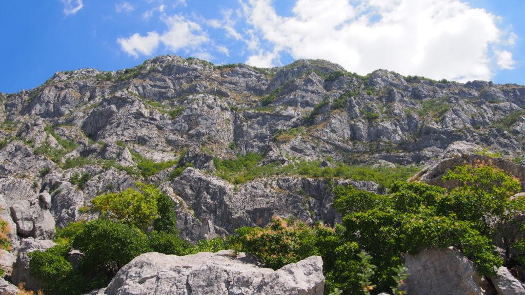 góry w Czarnogórze