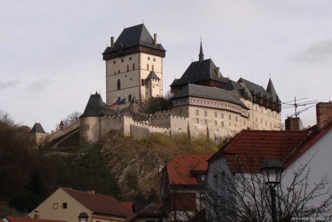 Zamek Karlstejn - najpiękniejsze zamki w Europie