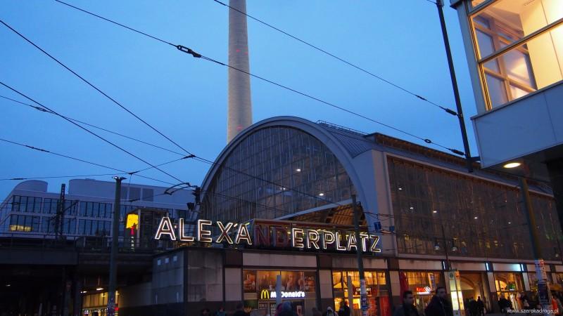 Alexanderplatz - Berlin w jeden dzień