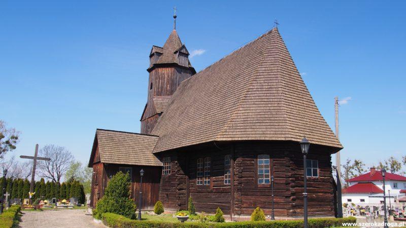 kościoły drewniane, powiat kluczborski