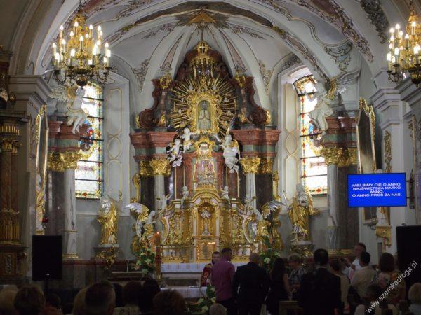 Góra św. Anny wnętrze bazyliki