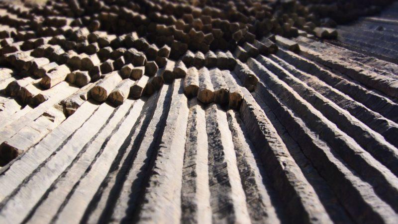 skały, natura, piszczałki