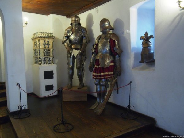 wnętrze zamku Bran