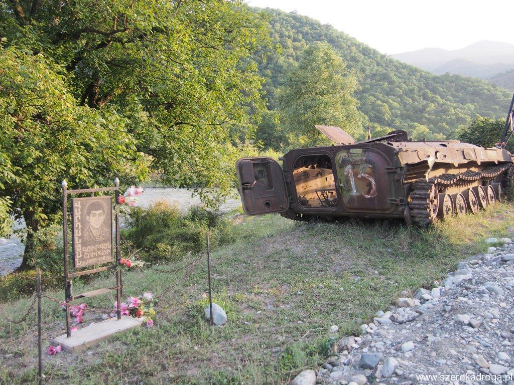 Górski Karabach ślady po wojnie