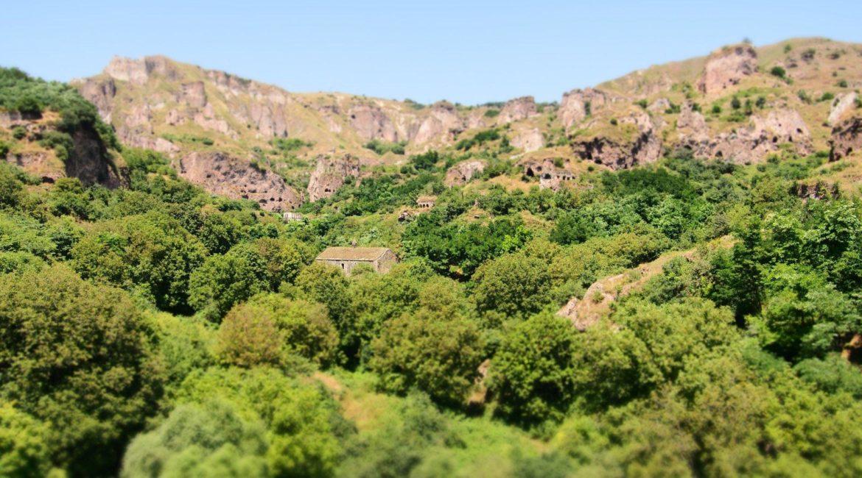 Khndzoresk, Goris, południe Armenii