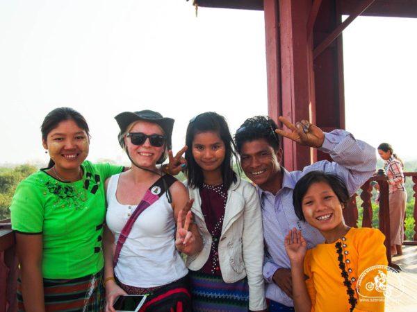 ludzie w Birmie
