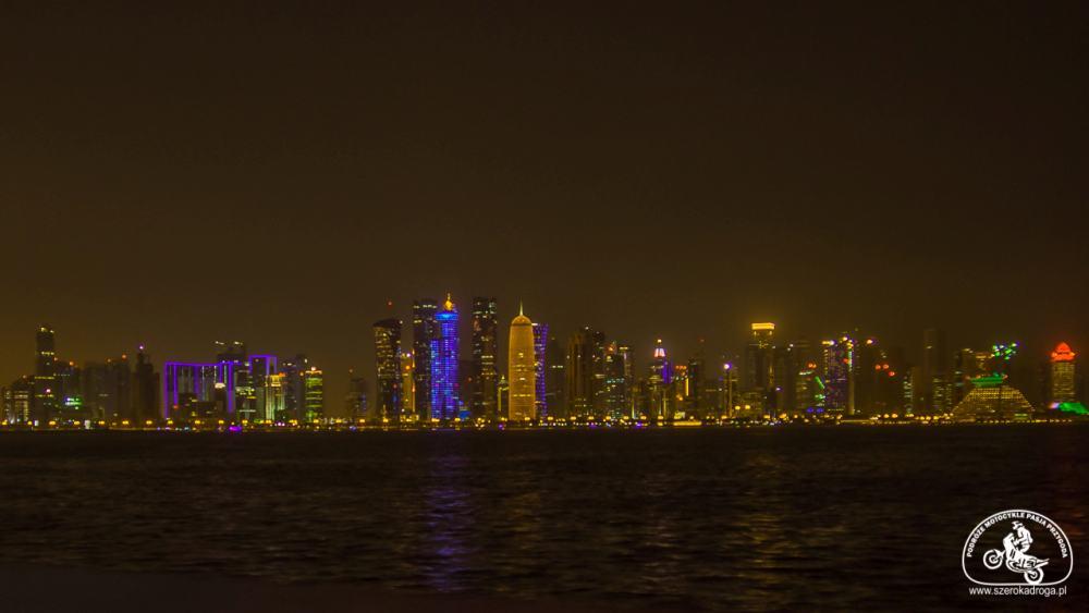 międzylądowanie w Doha