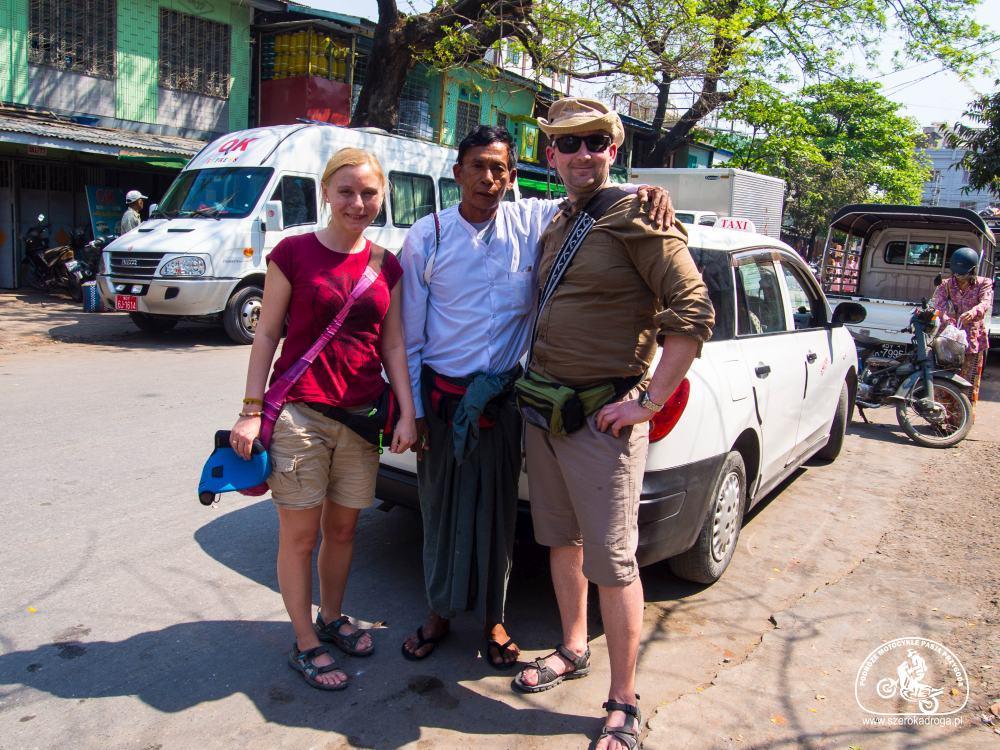 taxi w Birmie