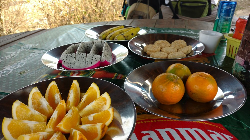 jedzenie w Birmie - owoce