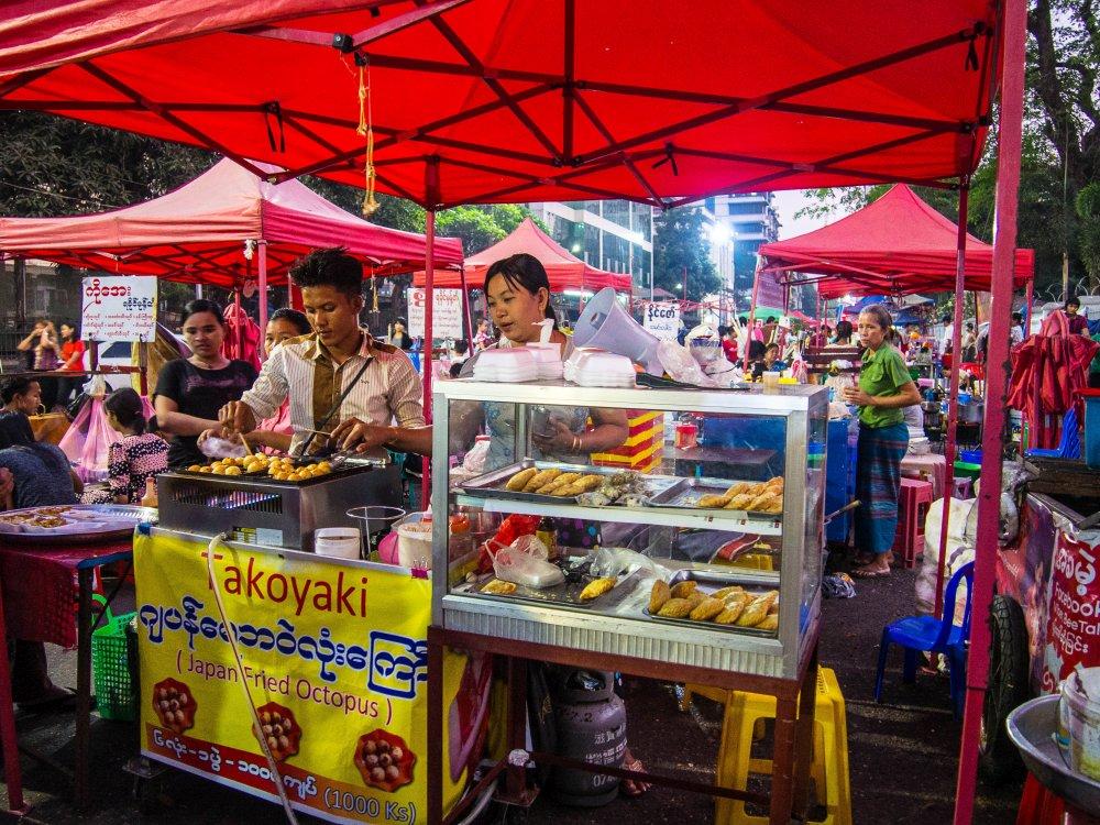 co jeść w Birmie