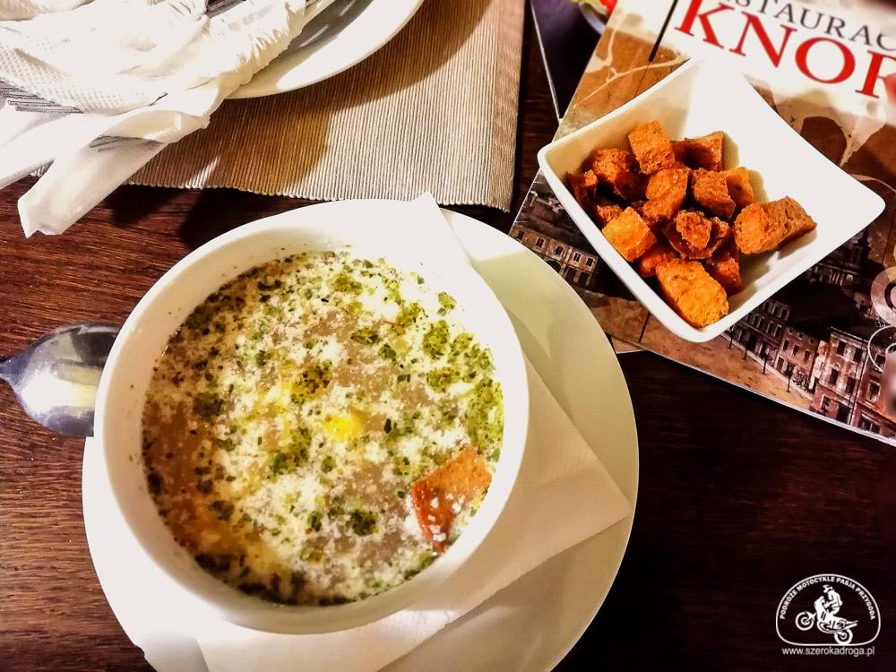 Sternberk - gdzie zjeść? Restauracja Knorr