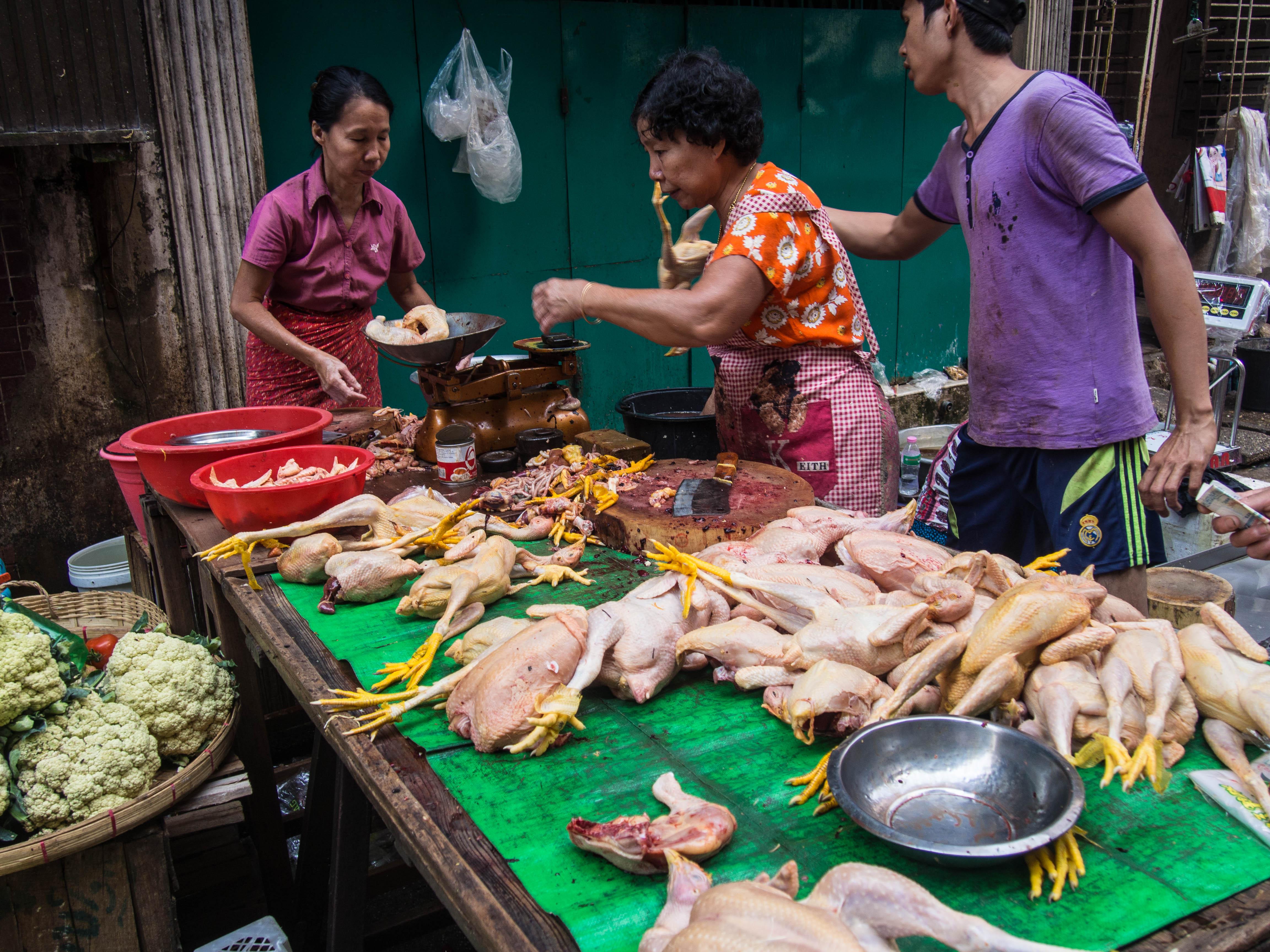 mieszkańcy Rangunu, zwiedzanie Birmy informacje praktyczne