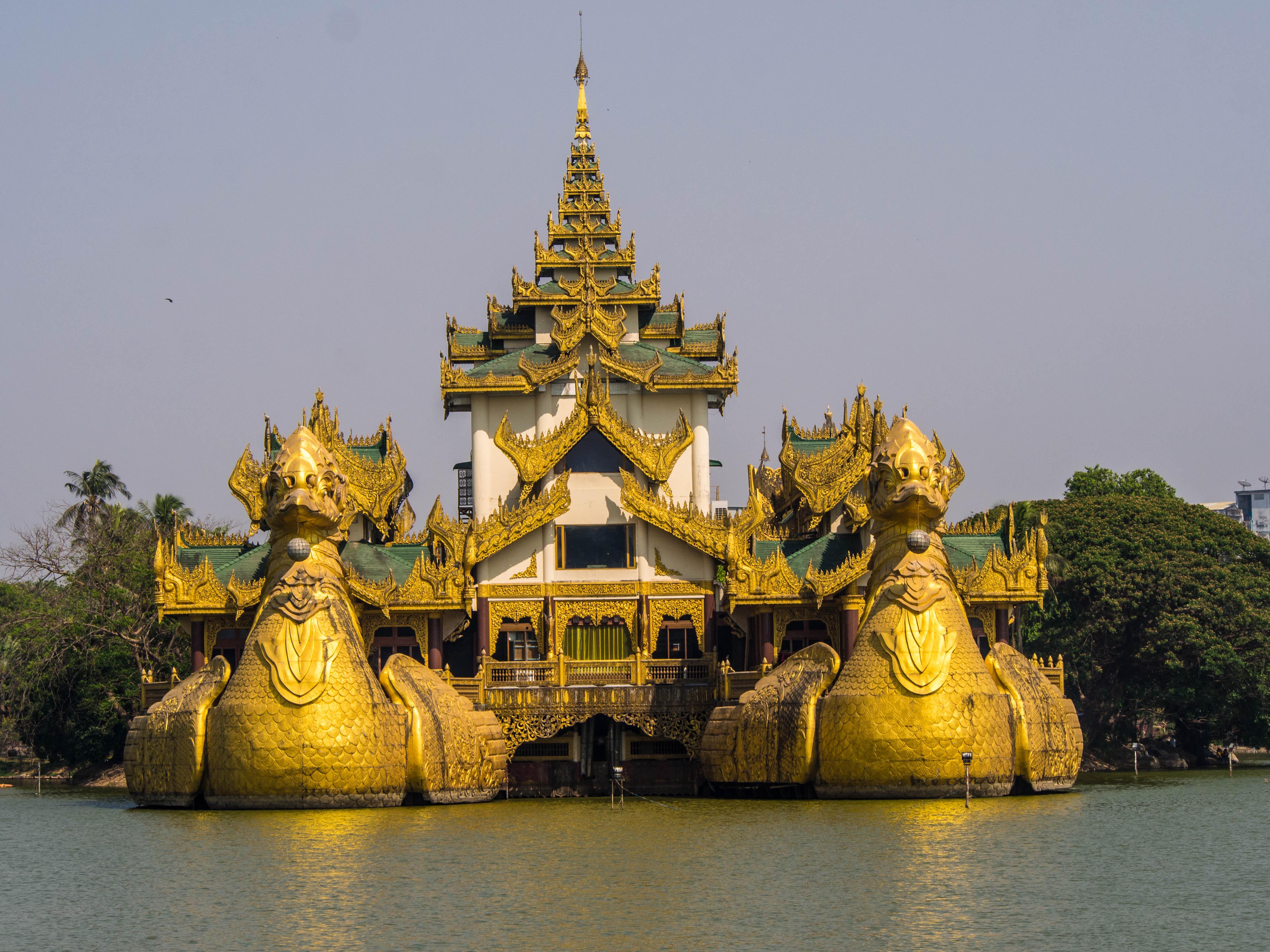 zwiedzanie Birmy - co zobaczyć w Rangun