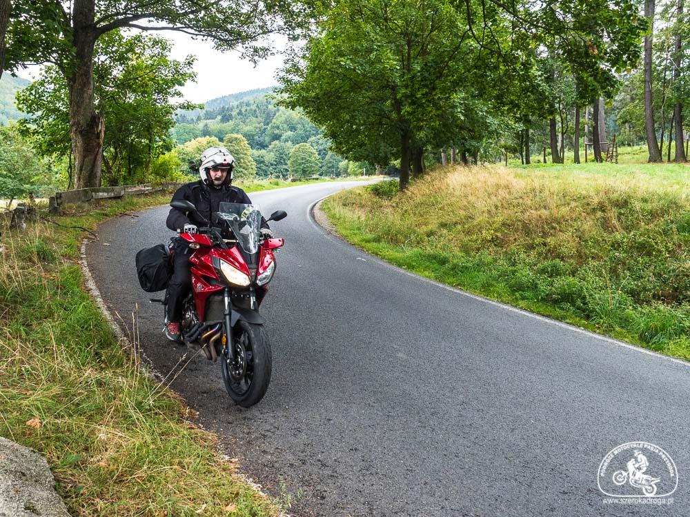 motocykl jak zacząć, ciekawe trasy motocyklowe, Yamaha Tracer 700
