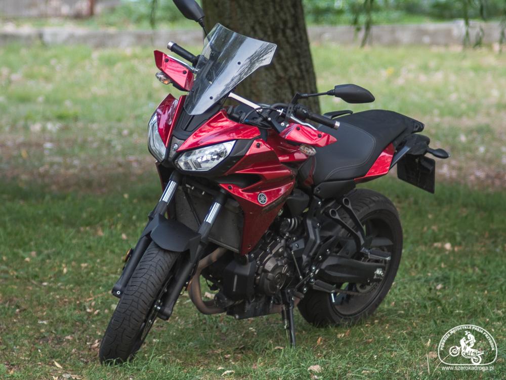 testy motocykli - Yamaha Tracer 700