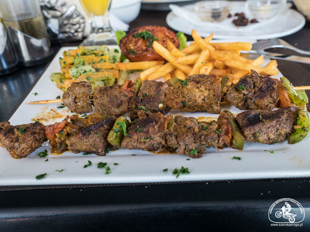 jedzenie w Maroku, szaszłyk Maroko