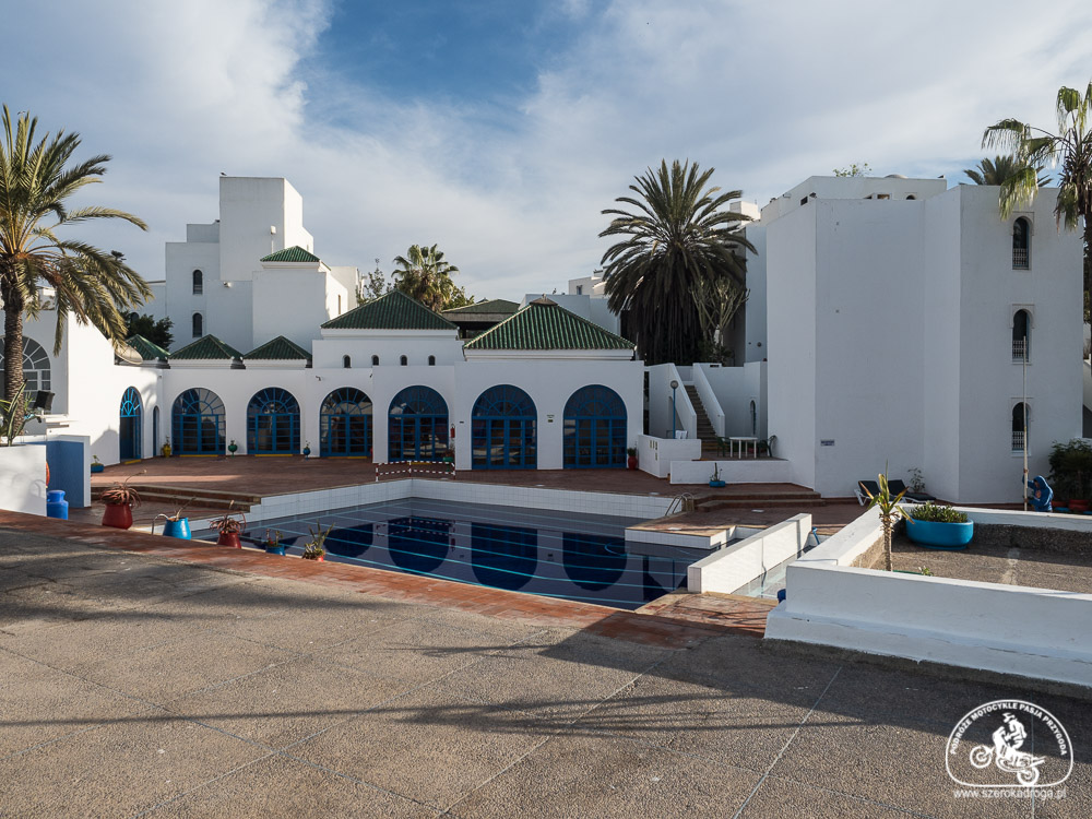nocleg Agadir, hotel Residence Iguana