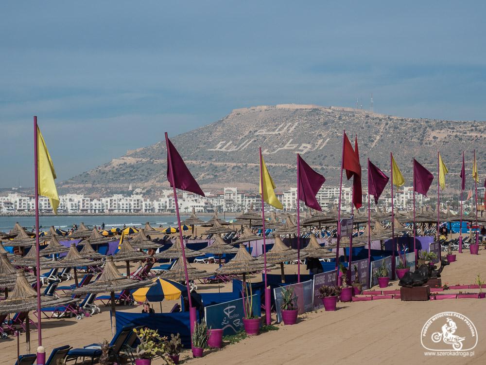 co robić w Agadirze, piękne plaże Maroko