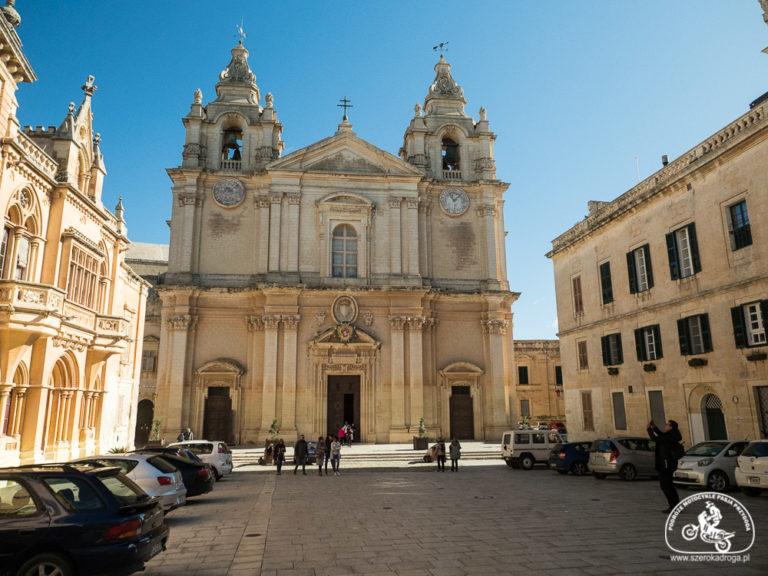 katedra św. Pawła Mdina Malta, co zobaczyć Malta