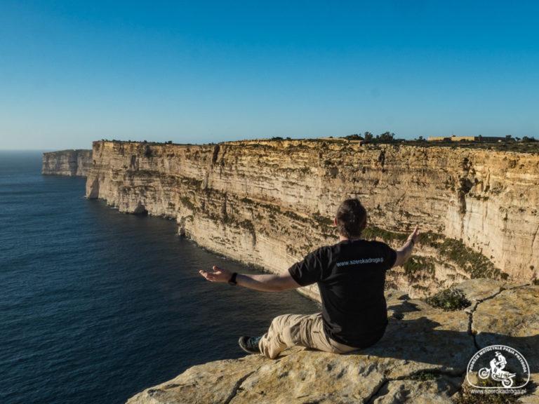 klify na Malcie, Gozo