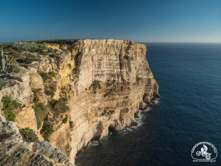 co zobaczyć na Gozo, klify ta Cenc