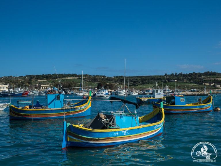 wioska rybacka Marsaxlokk, atrakcje Malty Południowo-Wschodniej