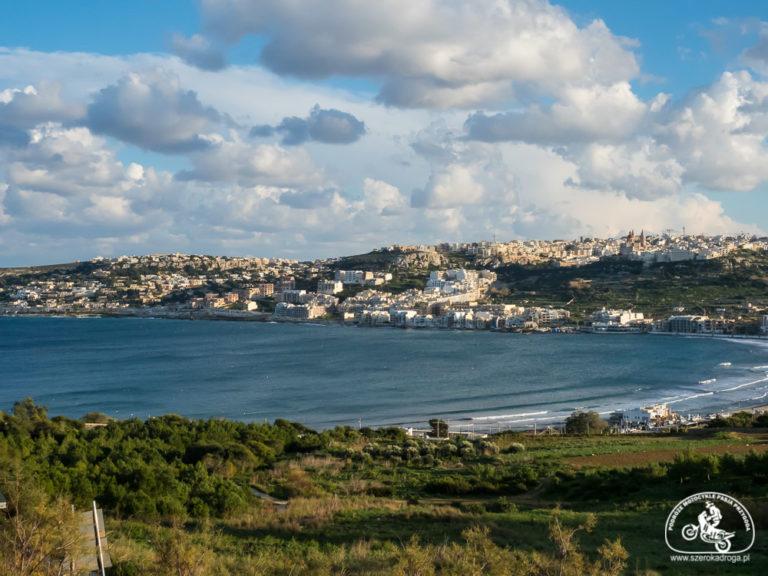 Mellieha Bay Malta, atrakcje Malty, ciekawe miejsca Malta