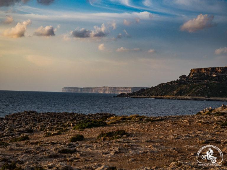 Mellieha Malta widok na Gozo