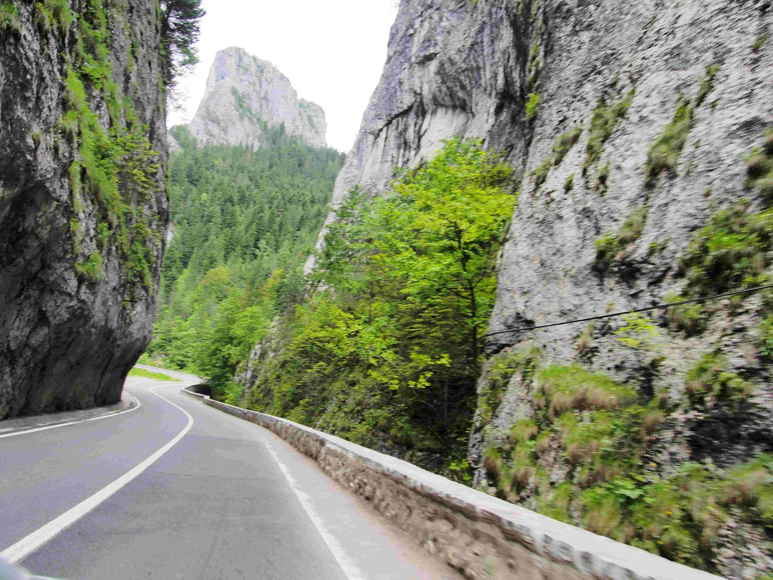 Rumunia motocyklem