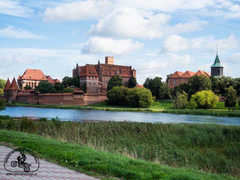 zwiedzenie zamku w Malborku